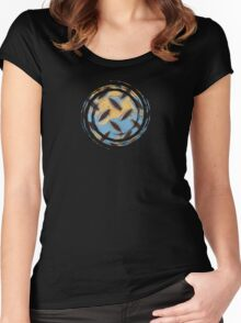 AbStraCt  - JUSTART ©  Women's Fitted Scoop T-Shirt
