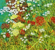 Floral Garden by Herb Dickinson
