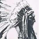 Sitting Bull by BarbBarcikKeith