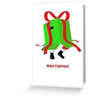 Metal Gear Santa Greeting Card