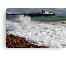 Brighton Sea Canvas Print