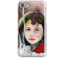 portrait of Gracie::no.3 iPhone Case/Skin