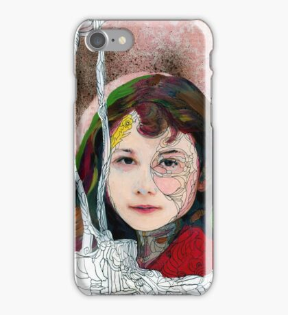 portrait of Gracie::no.3 iPhone Case/Skin