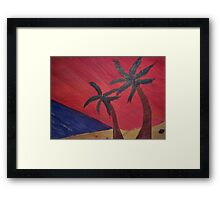 Tropical Warmth Framed Print