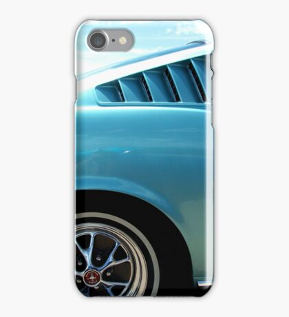 Classic Mustang iPhone Case/Skin