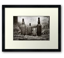 Cheers To The Past Framed Print