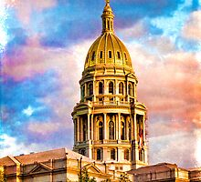 State Capitol at Sunset, Denver Colorado  by Chris Lord