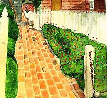 Garden Path by Marriet