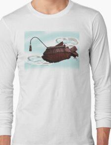 Steampunk Angler Fish Long Sleeve T-Shirt