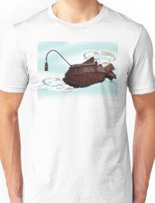 Steampunk Angler Fish Unisex T-Shirt