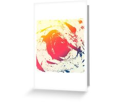 Splatter Greeting Card