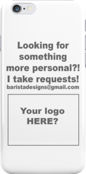 Your logo here? by Barista