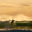 Another Golden Surf Moment by Odille Esmonde-Morgan