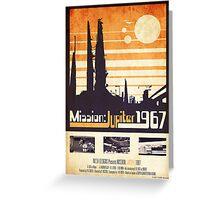 Mission: Jupiter 1967 Greeting Card