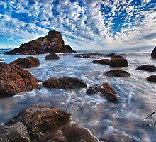 View at Muir Beach, San Francisco by Sharath Mahadev Bhat