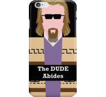 "Jeff ""the Dude"" Lebowski iPhone Case/Skin"