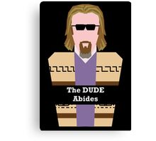 "Jeff ""the Dude"" Lebowski Canvas Print"