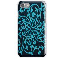 Celtic Inspiration Teal iPhone Case/Skin
