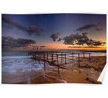Bournemouth - Sunset Poster