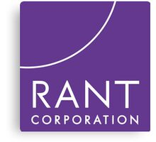 RANT Corporation Canvas Print
