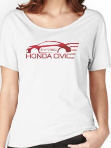 Honda Civic i-Vtec Women's Relaxed Fit T-Shirt