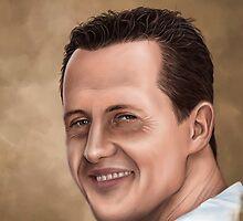 Michael Schumacher by schuumigirl