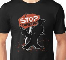 stop the violence Unisex T-Shirt