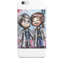 Hannibal chibi pairings - Preller iPhone Case/Skin