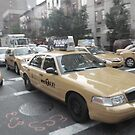 new york taxi, near miss by vinpez