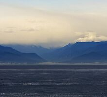 Sea Mountains Clouds by TerrillWelch