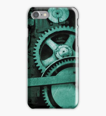 iPhone Case - Bolts and Rivets (Green) iPhone Case/Skin