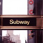 Subway Sign by mjdorn