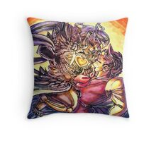 The Lich Queen takes her Prize Throw Pillow