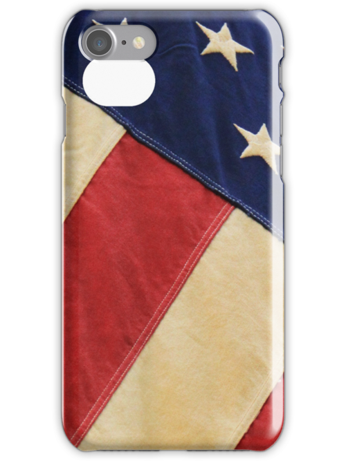 American Flag iPhone Case by JoeDavisPhoto