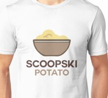 Scoopski Potato Unisex T-Shirt