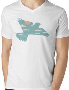 Skylark Mens V-Neck T-Shirt