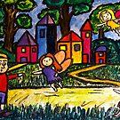 A Fairies Village by Monica Engeler