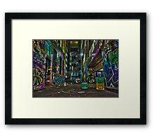 Melbournes Hidden Beauty Framed Print