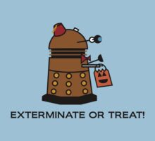 Exterminate or Treat - Full Color Kids Tee