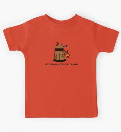 Exterminate or Treat - Full Color Kids Clothes