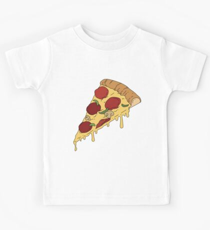 Pizza Slice Kids Tee
