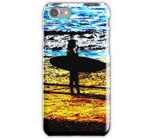 Surfing iPhone case iPhone Case/Skin