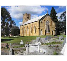 Christ Church, Longford, Tasmania Poster