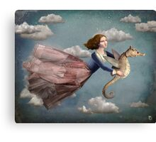 Voyage in the sky Canvas Print