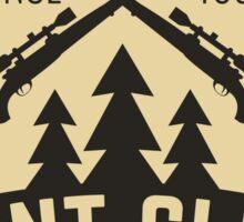Hunt club 1 Sticker