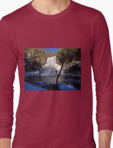 Blue Cascade  Long Sleeve T-Shirt
