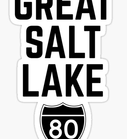 Great Salt Lake Sticker