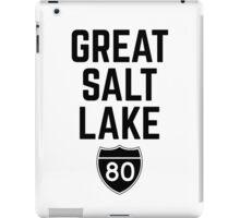 Great Salt Lake iPad Case/Skin