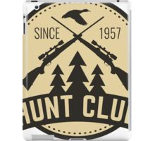 Hunt club 1 iPad Case/Skin