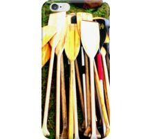 Canoe Paddles iPhone case iPhone Case/Skin